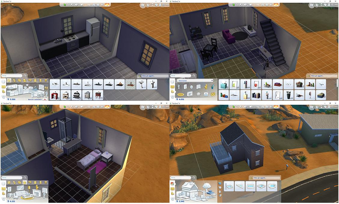 Costruire una nuova casa in the sims 4 blog di flowergirl for Sims 4 piani di casa